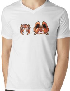 Krabby evolution  Mens V-Neck T-Shirt
