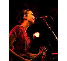 Lisa Hannigan @ Whelans Photographic Print