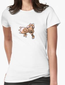 Hitmonlee evolution  Womens Fitted T-Shirt