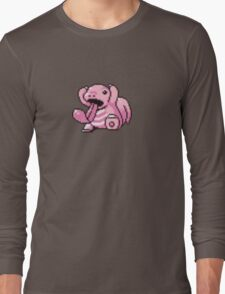 Lickitung evolution  Long Sleeve T-Shirt