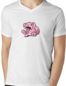 Lickitung evolution  Mens V-Neck T-Shirt