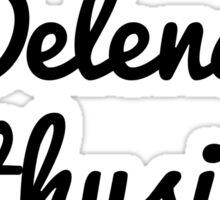 Delena Enthusiast  Sticker