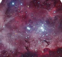 Nebula triangle Sticker