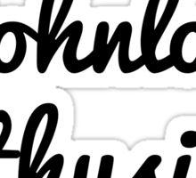Johnlock Enthusiast  Sticker
