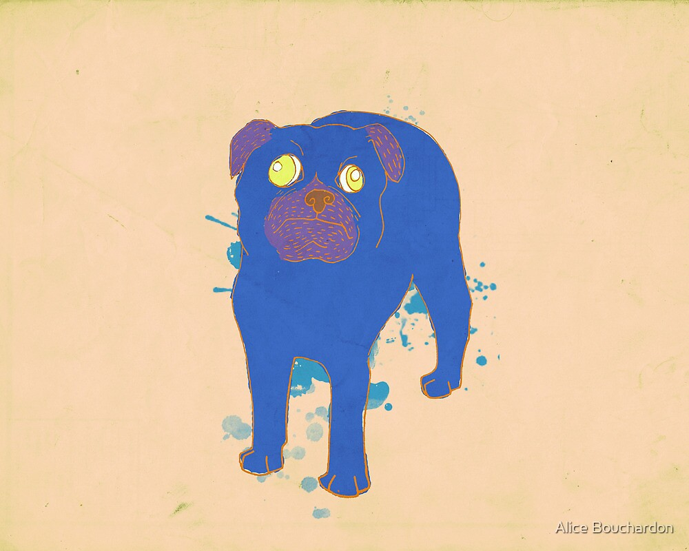 Pug by OneAlice