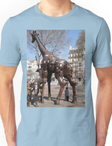 Giraffe Sculptures, Marseilles, France 2012 Unisex T-Shirt