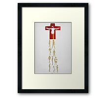 Humans come from Lilith Framed Print