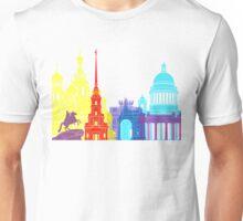 St Petersburg skyline pop Unisex T-Shirt