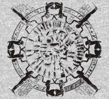 Dendera Zodiac (Black) by cadellin