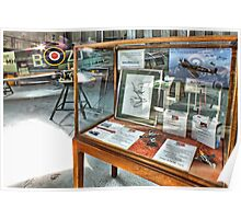MH434 And The OFMC Model Case Hangar 2 Duxford ! Poster