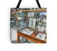 MH434 And The OFMC Model Case Hangar 2 Duxford ! Tote Bag