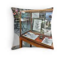 MH434 And The OFMC Model Case Hangar 2 Duxford ! Throw Pillow