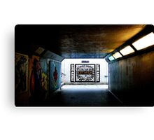 Bristol Subway Canvas Print
