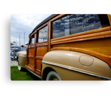 California Woodie 1 Canvas Print