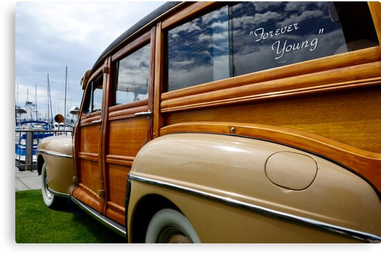 California Woodie 1 by Bob Christopher
