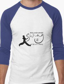 Melbourne Swing Festival 2013 official tee Men's Baseball ¾ T-Shirt