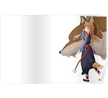 Holo the wise wolf - Spice and Wolf Poster