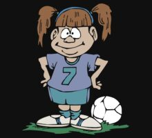 Girl's Soccer Kids Tee