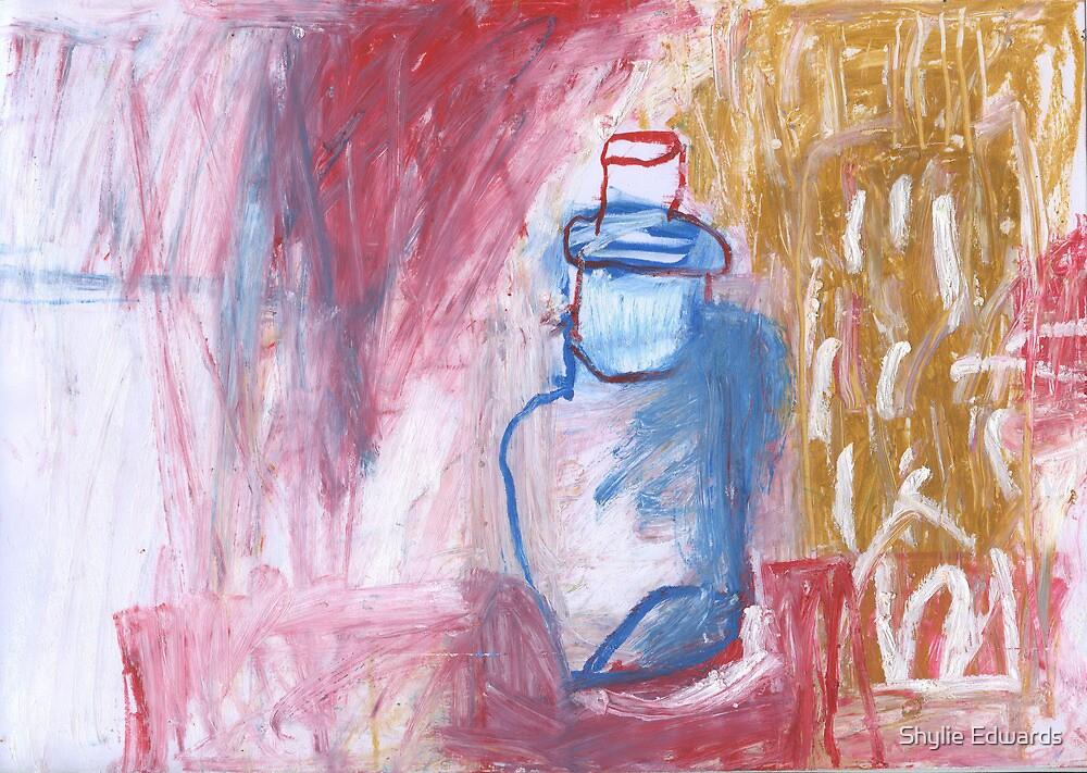 bottle with stopper by Shylie Edwards