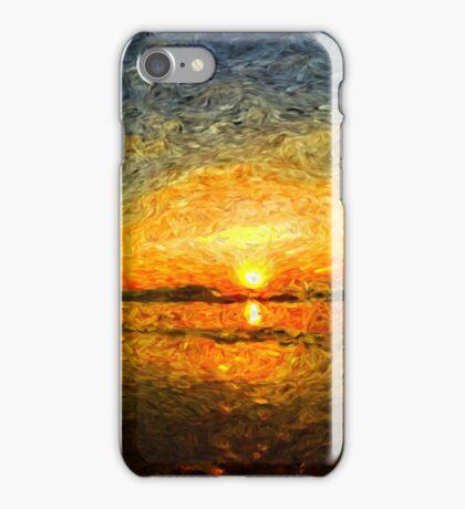 sunrise impressionism iPhone Case/Skin