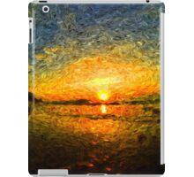 sunrise impressionism iPad Case/Skin
