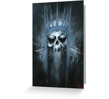 King of the Dead Greeting Card