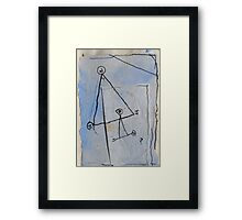 18 and Upwards Framed Print