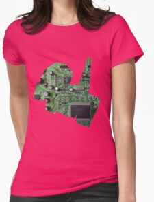 Porygon used Conversion Womens Fitted T-Shirt