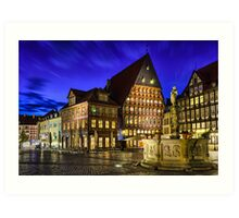 Old Town in Germany Art Print