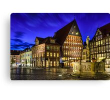 Old Town in Germany Canvas Print
