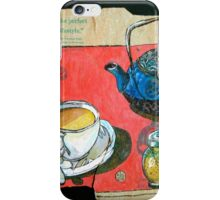 A pot of Earl Grey iPhone Case/Skin