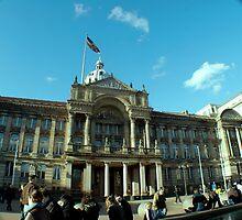 Birmingham Town, UK by erifekili
