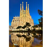 Sagrada Familia in Barcelona Photographic Print