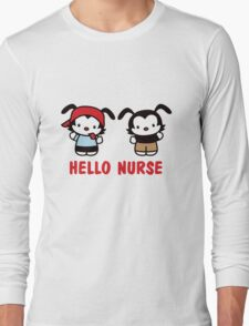 Hello Nurse Long Sleeve T-Shirt