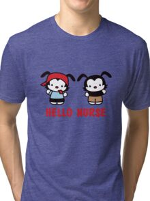 Hello Nurse Tri-blend T-Shirt