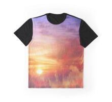 Landscape of dreaming Poppies'... Graphic T-Shirt
