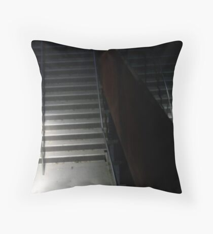 Reflection on Stairs Throw Pillow