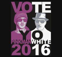 Breaking Bad shirt VOTE YO Pinkman White 2016 by BrBa