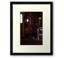 Greenwich Village Walk Framed Print
