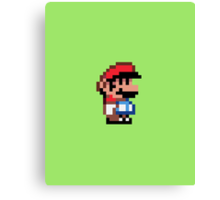 Mini Mario Canvas Print