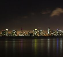 Jersey City Skyline by tomduggan
