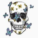 Pretty lovely skull by MagicalDeluxe