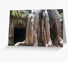 Ta Phrom, Cambodia Greeting Card