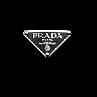 Prada Logo Designer iPhone Cover by jlerner