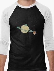Space Heater Men's Baseball ¾ T-Shirt