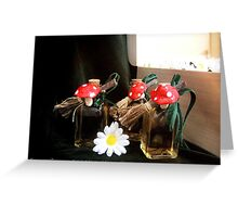 Treasure chest Pixie IV Greeting Card