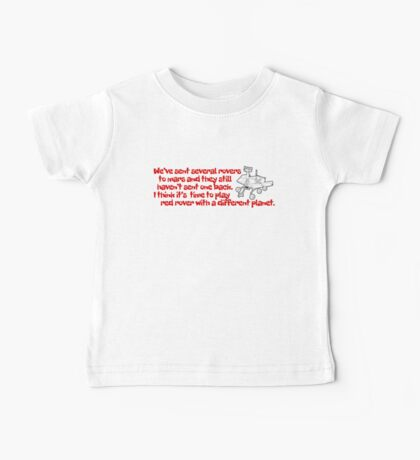 Red Rover Baby Tee