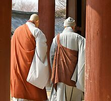 Bulguksa monks by SUBI