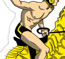 Real Water Polo Sticker