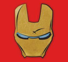 Iron Man Face Plate by Deividas